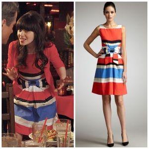 Kate Spade Striped Jillian Dress